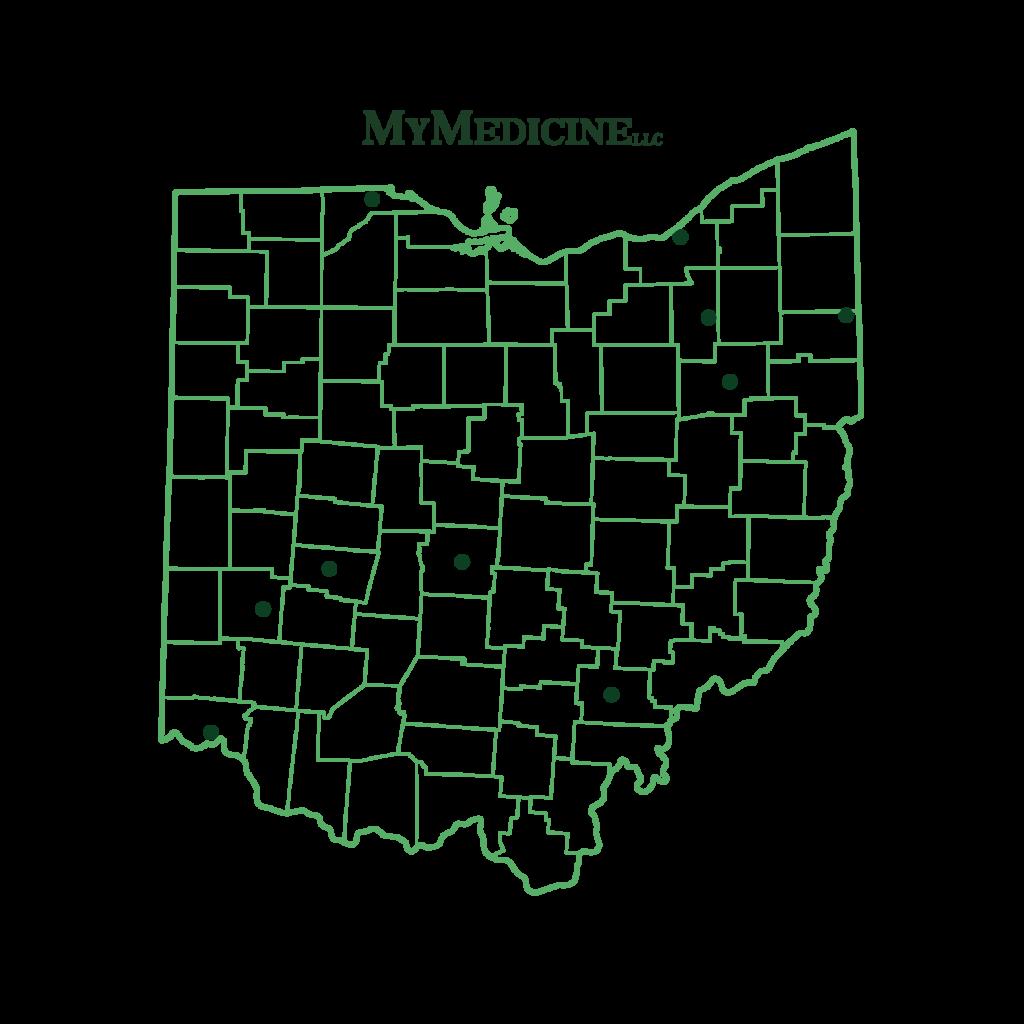 Ohio cities map MM-01-2